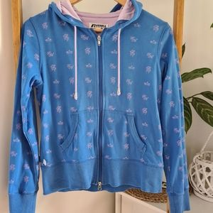 Russell Athletic Size 10 Patterned Hoodie Jumper